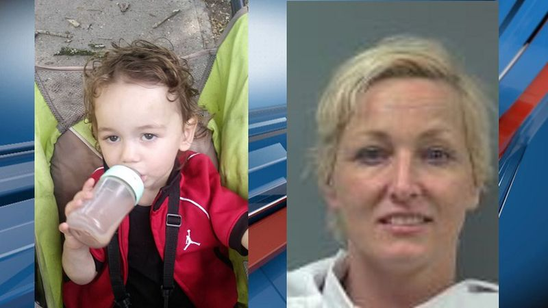 2-year-old Kyrese Cabrera-Downs was last seen with his grandmother, Jessica Downs
