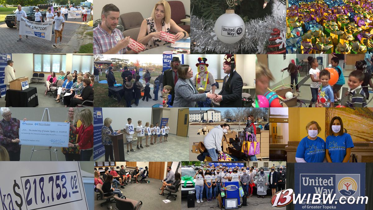 The United Way of Greater Topeka celebrates its Day of Giving on Wednesday, June 9, with...
