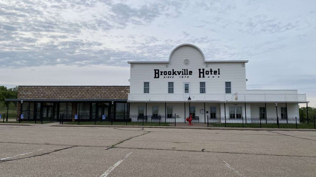 Brookville Hotel restaurant building in Abilene