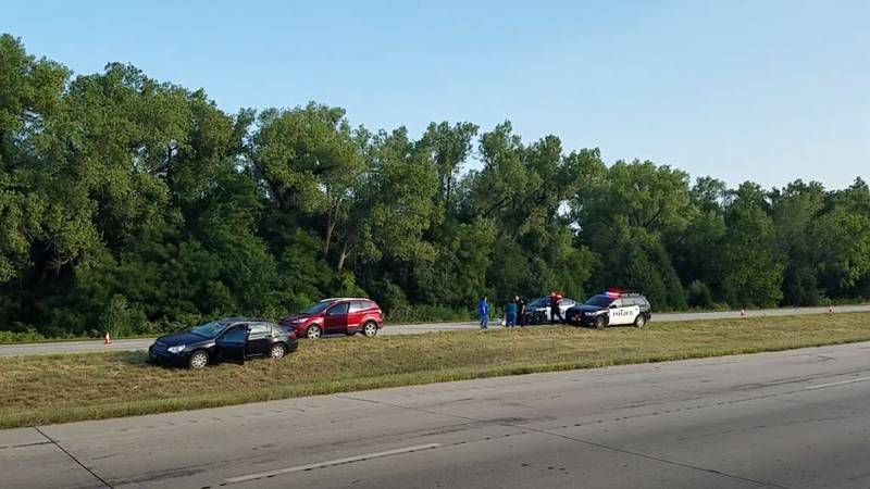 A 46-year-old Junction City woman rolled her car four times while trying to avoid another...