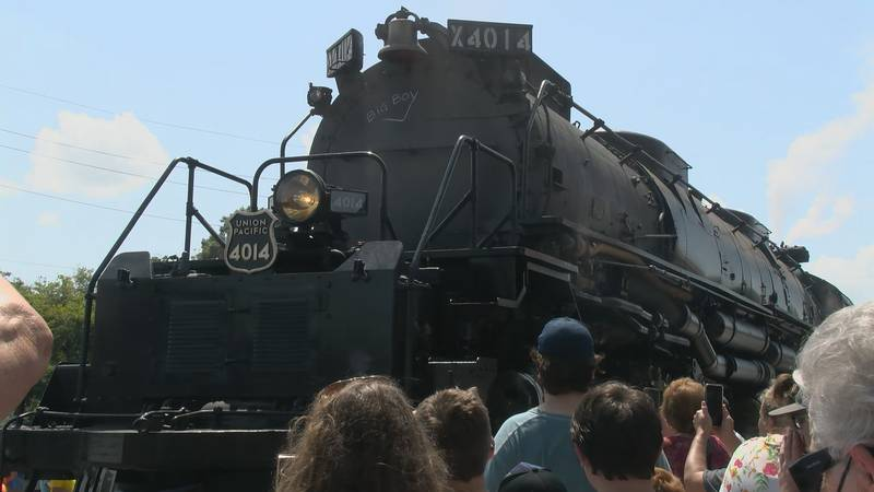 """""""Big Boy"""" number 4014 was in use in 1941 to assist WWII efforts"""