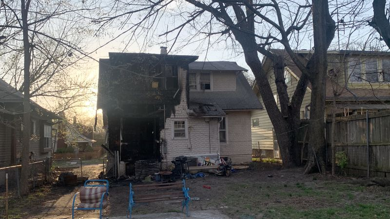 A Sunday night fire damaged two adjacent homes in the 1100 block of S.W. Garfield, authorities...