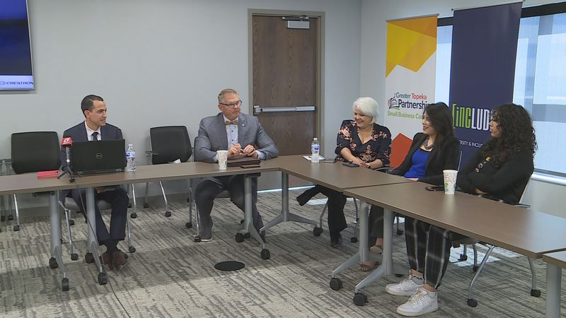 Topeka leaders meet to discuss the census and population in Shawnee Co. (June 4, 2021)
