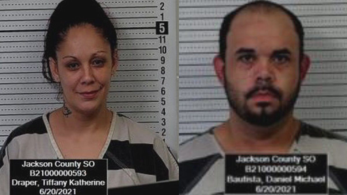 Two Topekans behind bars in Jackson Co.