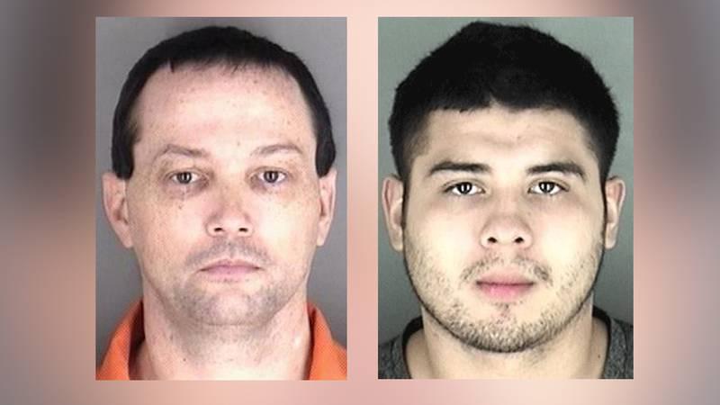 Steven Dishner (left) and Daniel Arreola (right) were sentenced last week in Shawnee Co. Dist....