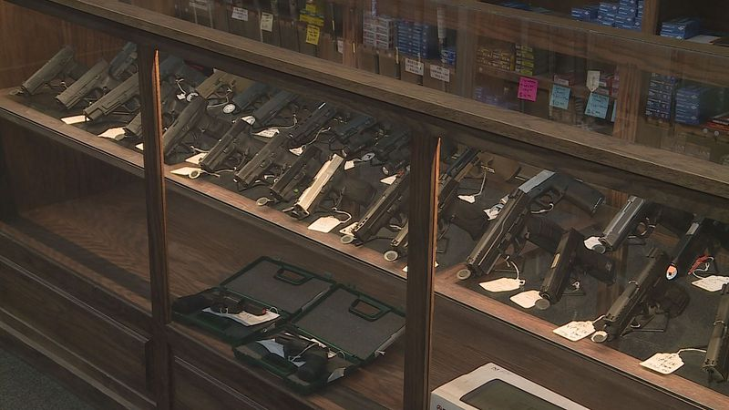 Gun sales surged this year. Some current buyers say they're concerned President-elect Joe Biden...
