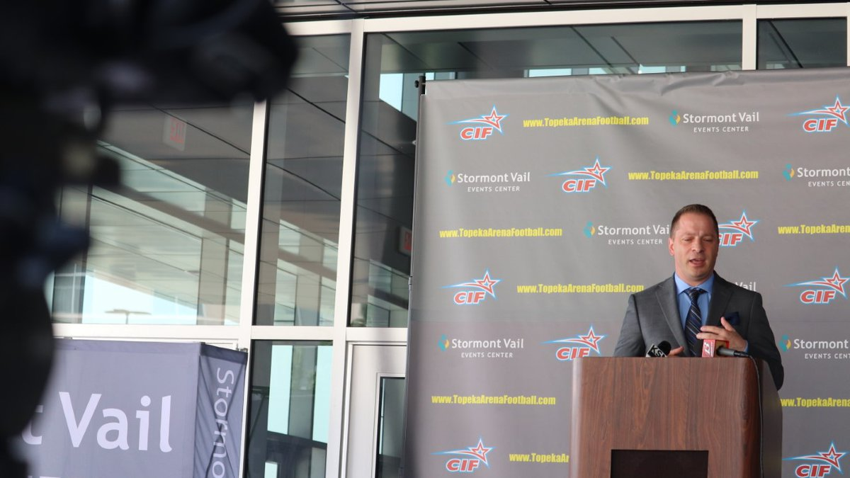 Topeka's Stormont Vail Events Center to welcome indoor football team in 2022