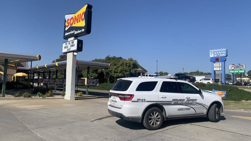 Two employees were reported to have been injured late Tuesday morning when a vehicle hit the...