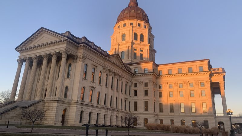 Photos show the ever-changing mood of the Kansas Statehouse in downtown Topeka.