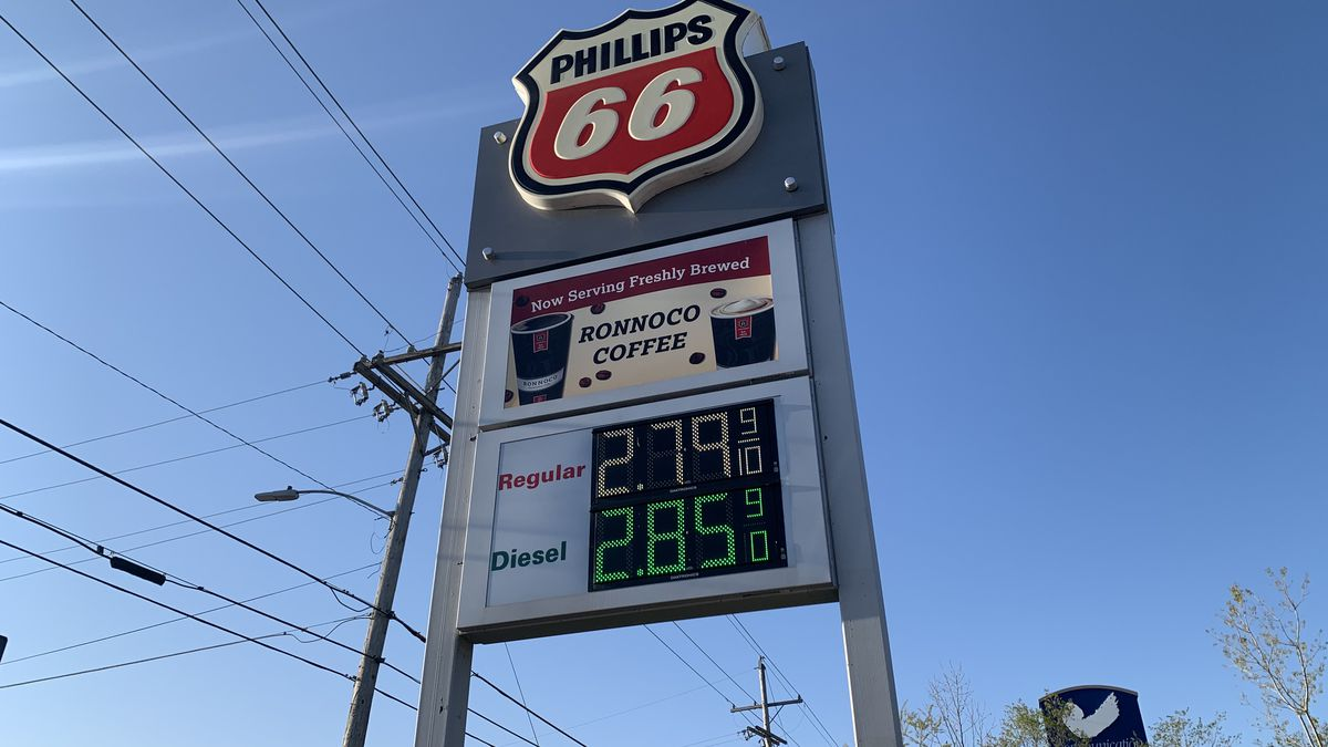 Gas prices are on the rise again in Topeka, with unleaded fuel going for $2.79 a gallon at the...
