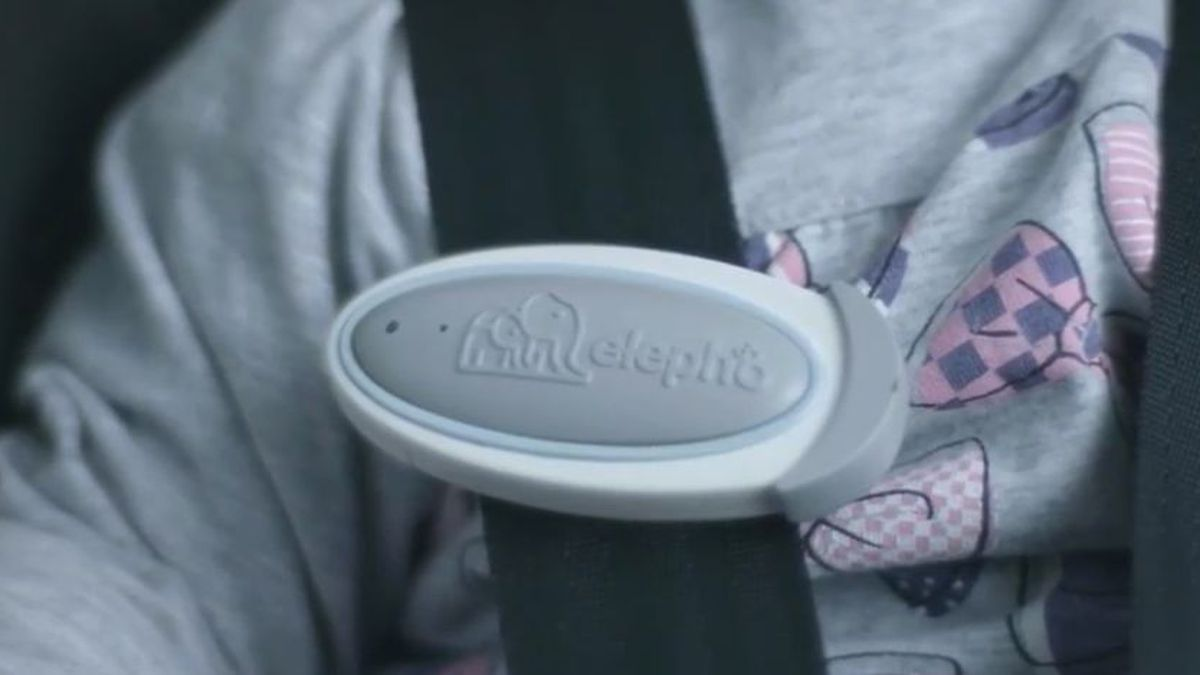 The eClip, created by Elepho, Inc. pairs with your smartphone and sends you an alert if you...