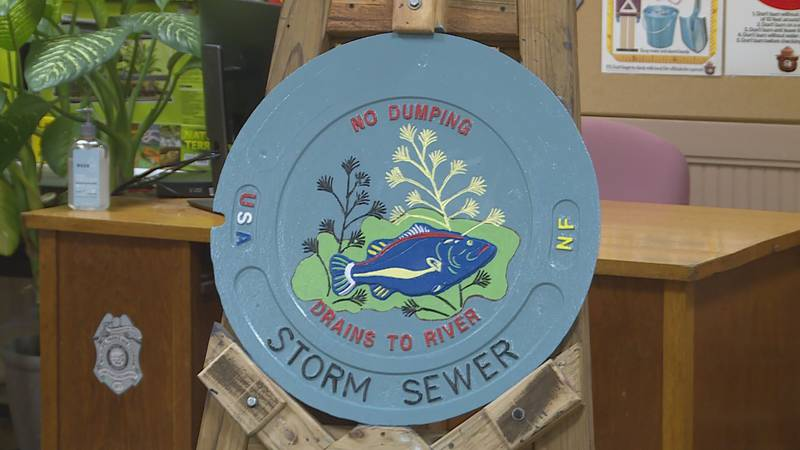 City and Topeka Zoo partners to repaint city's manhole covers