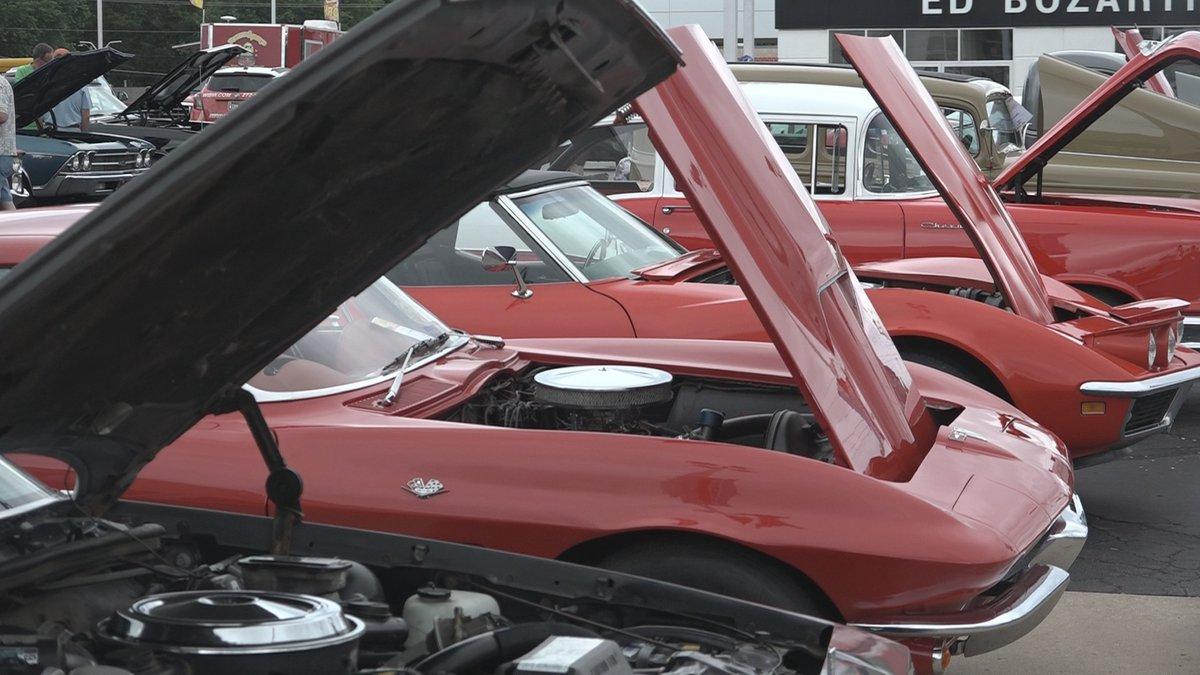 Ed Bozarth Chevrolet #1 Buick GMC Cadillac car show. (July 10, 2021)