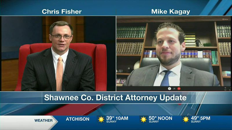 13 News This Morning At 6AM - Shawnee Co. DA Mike Kagay 1-21-21