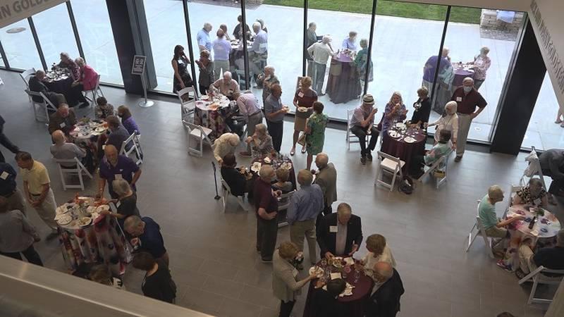 McCain Auditorium dedicates lobby expansion