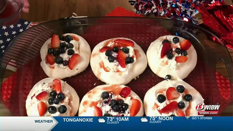 Charlene Patton - Red, White and Blue Meringues
