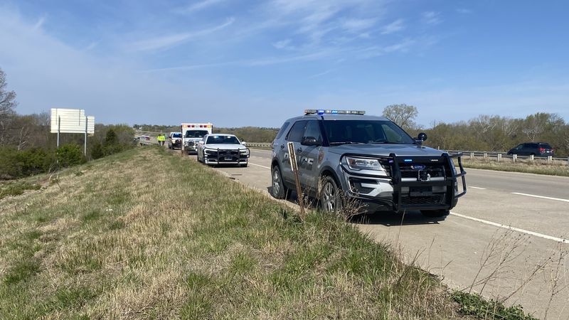 A car veered off I-70 into Mission Creek about a half-mile from Valencia Road, killing one...