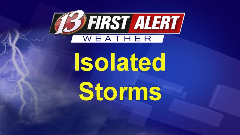 First Alert Isolated Storms