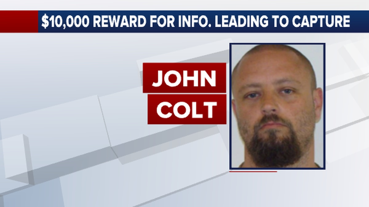 The U.S. Marshals are offering a $10,000 reward for information leading to the capture of John...