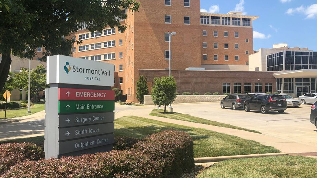 Stormont Vail Hospital (July 8, 2020)