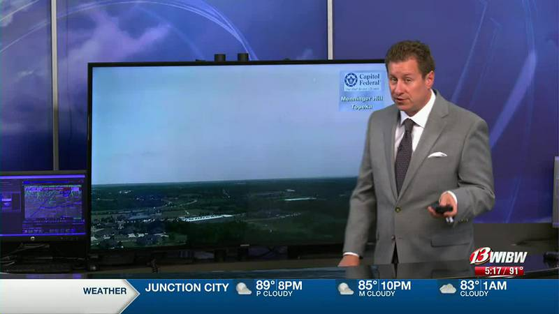 Several storm chances on the way