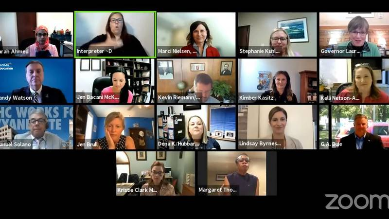The Kansas COVID Workgroup for Kids (KCWK) met virtually Monday for the first time to discuss...