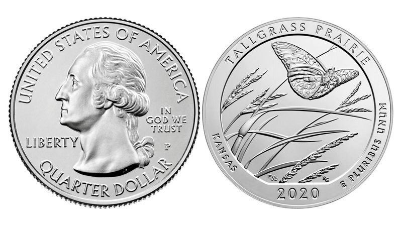 """The quarter is part of the 55th installment of the """"America the Beautiful"""" quarters program and..."""