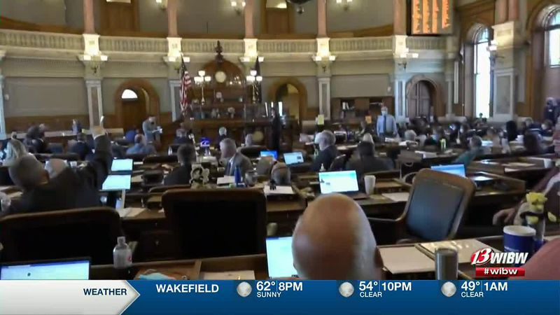 The Kansas House debates sending a bill that would legalize medical marijuana to the Senate on...