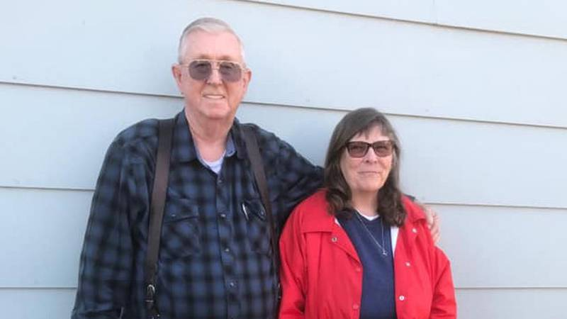 """Russell """"Red"""" and Mina Stevens have been missing since Sunday after leaving Wichita in a dark..."""
