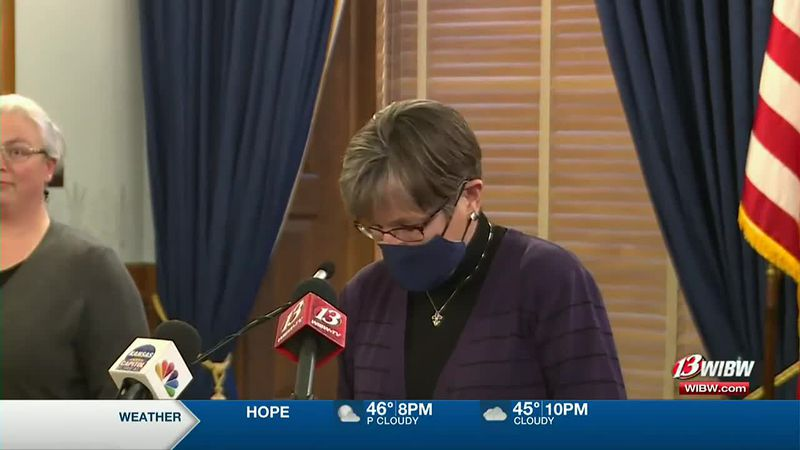 Governor Laura Kelly News Conference -- 6 p.m.