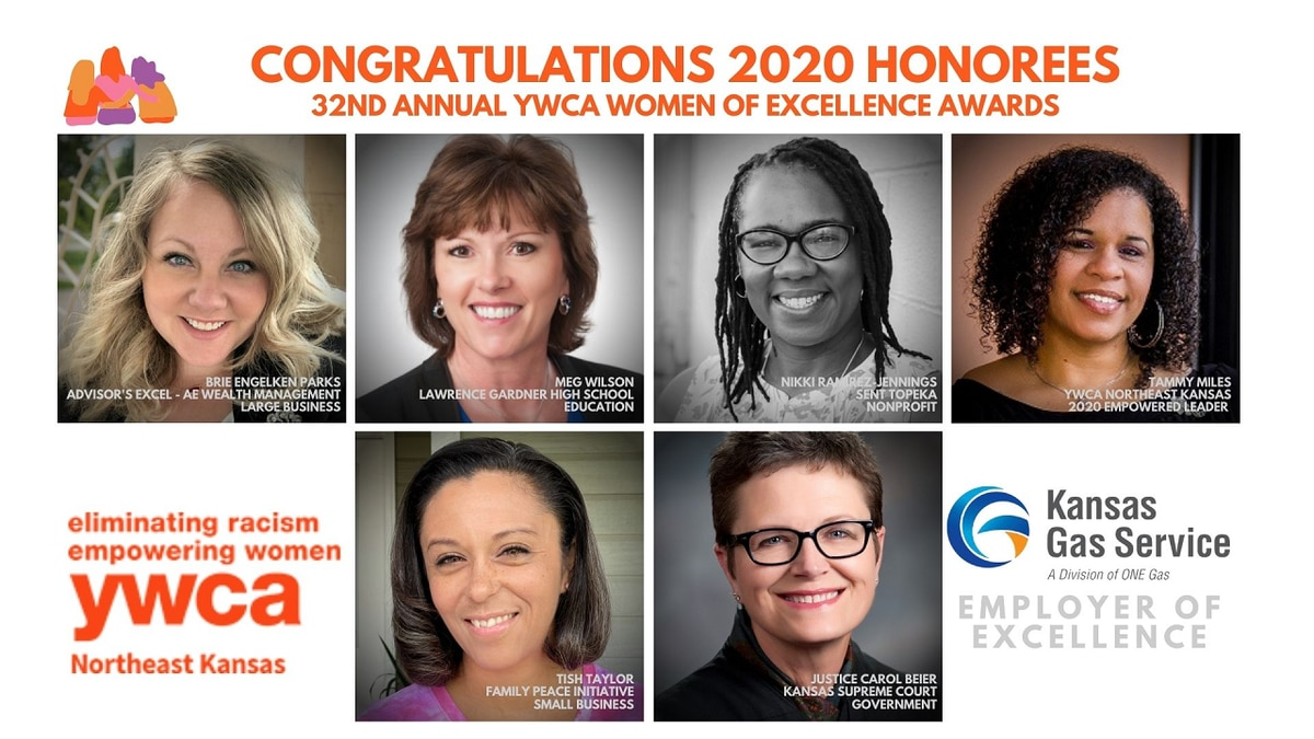 The YWCA Northeast Kansas honored its 2020 Women of Excellence in a virtual ceremony.